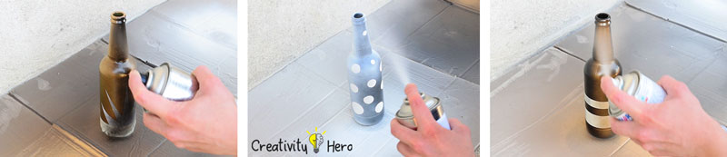 DIY Glass Bottle Home Decor – 3 Simple Ideas 7
