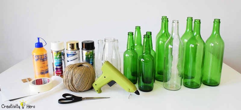 simple product ideas diy glass bottle home decor 3 simple ideas creativity hero