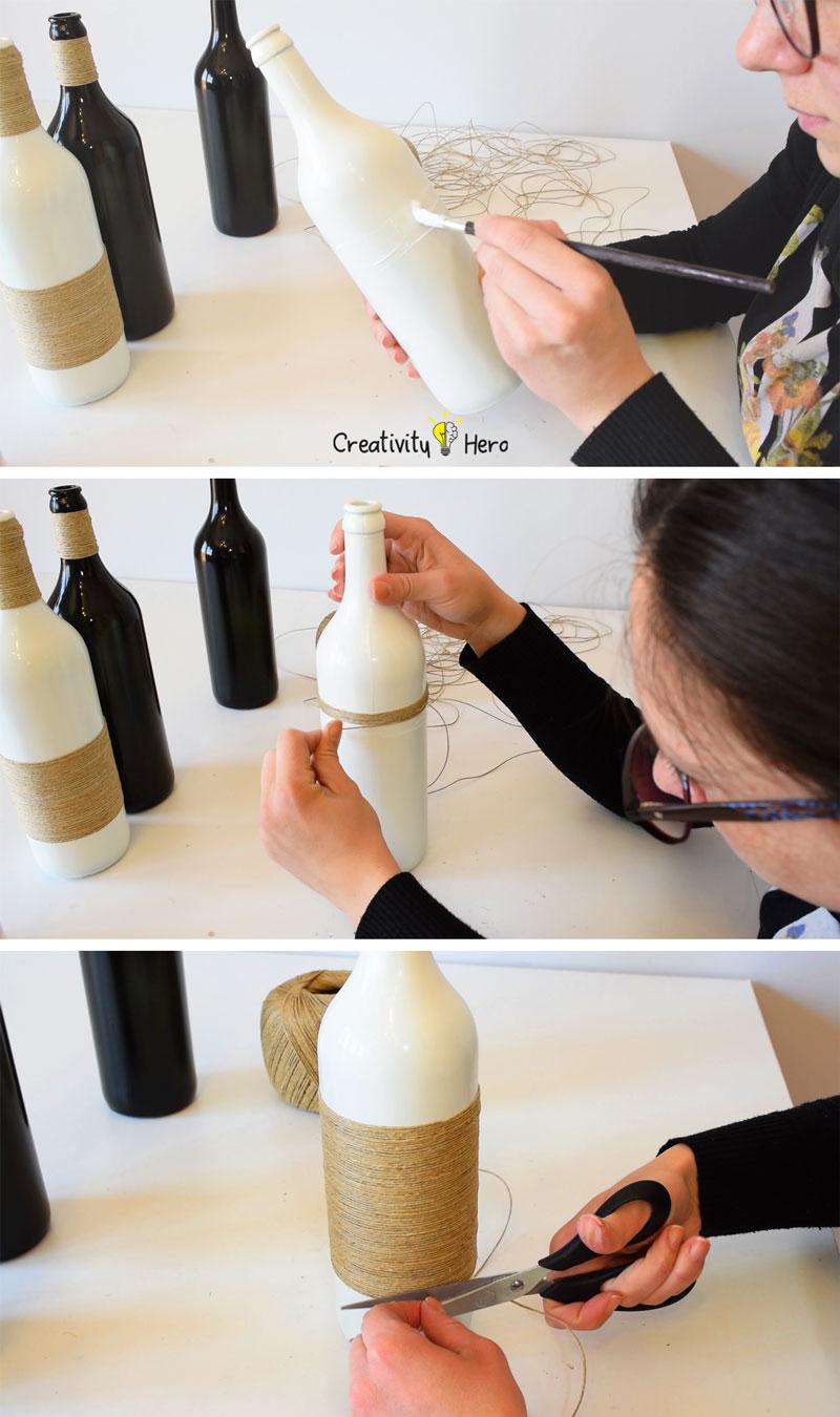 DIY Glass Bottle Home Decor – 3 Simple Ideas 3