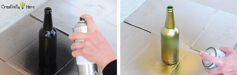 DIY Glass Bottle Home Decor – 3 Simple Ideas 5