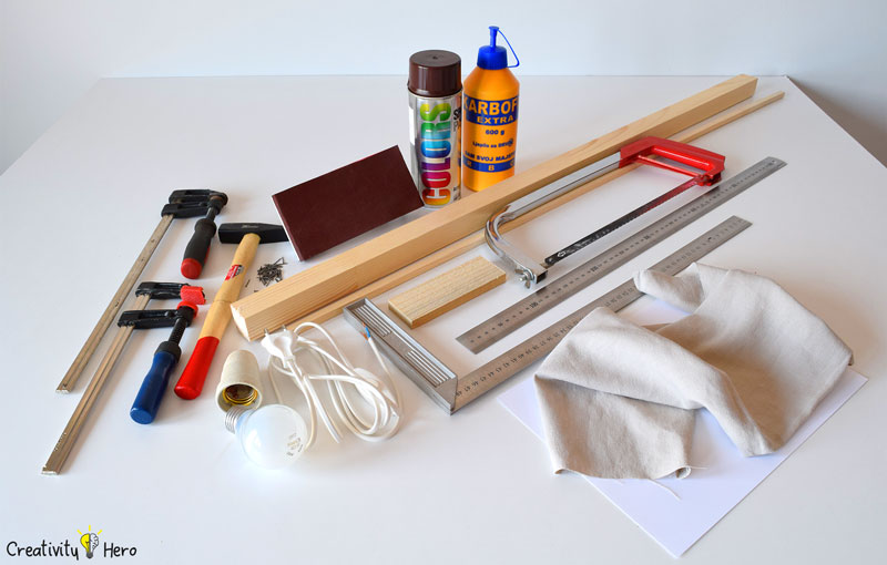 How To Build A Wooden Desk Lamp DIY Project 1