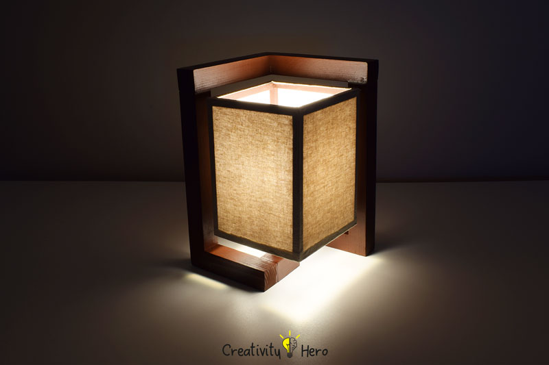 How To Build A Wooden Desk Lamp DIY Project 14
