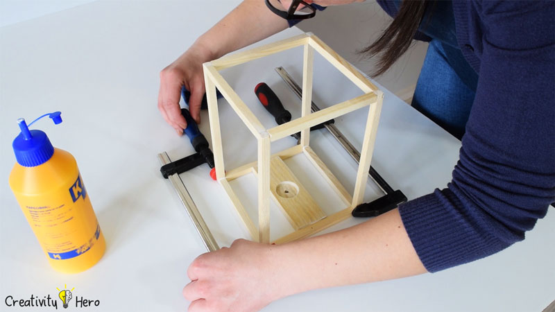 How To Build A Wooden Desk Lamp DIY Project 8