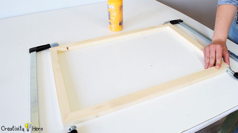 How To Make A Hanging Clothespin Photo Frame DIY Project 3
