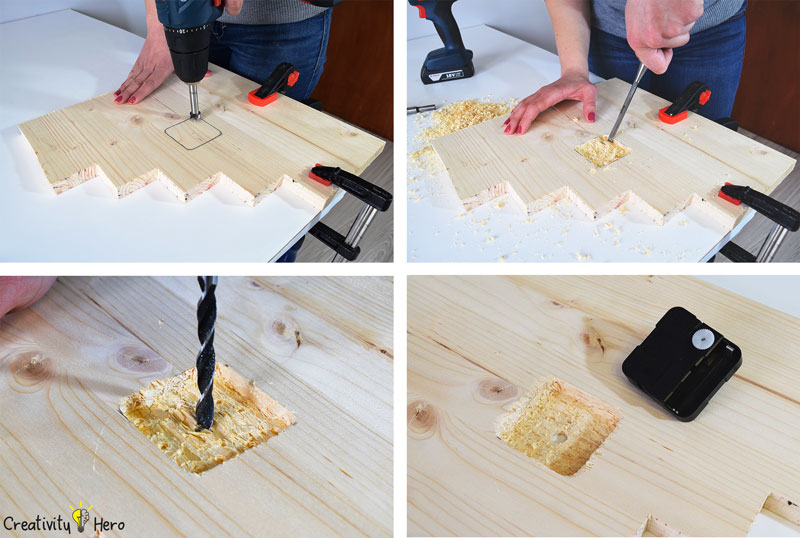 How To Make A Modern Wooden Clock Diy Project Creativity