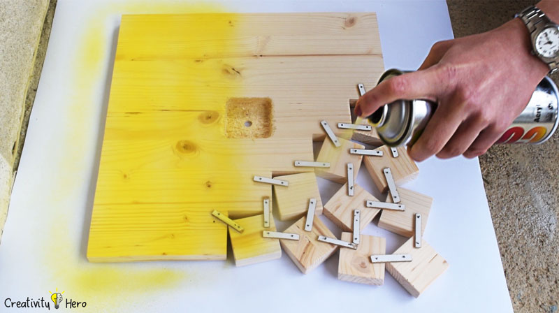 How To Make A Modern Wooden Clock DIY Project 7