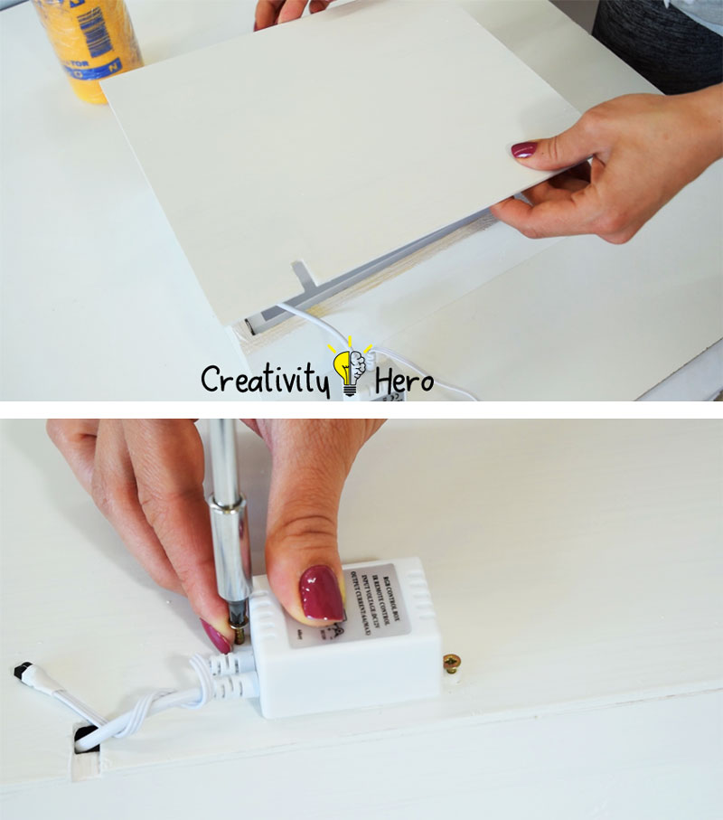 How To Create A 3D Paper Cut Light Box DIY Project 18