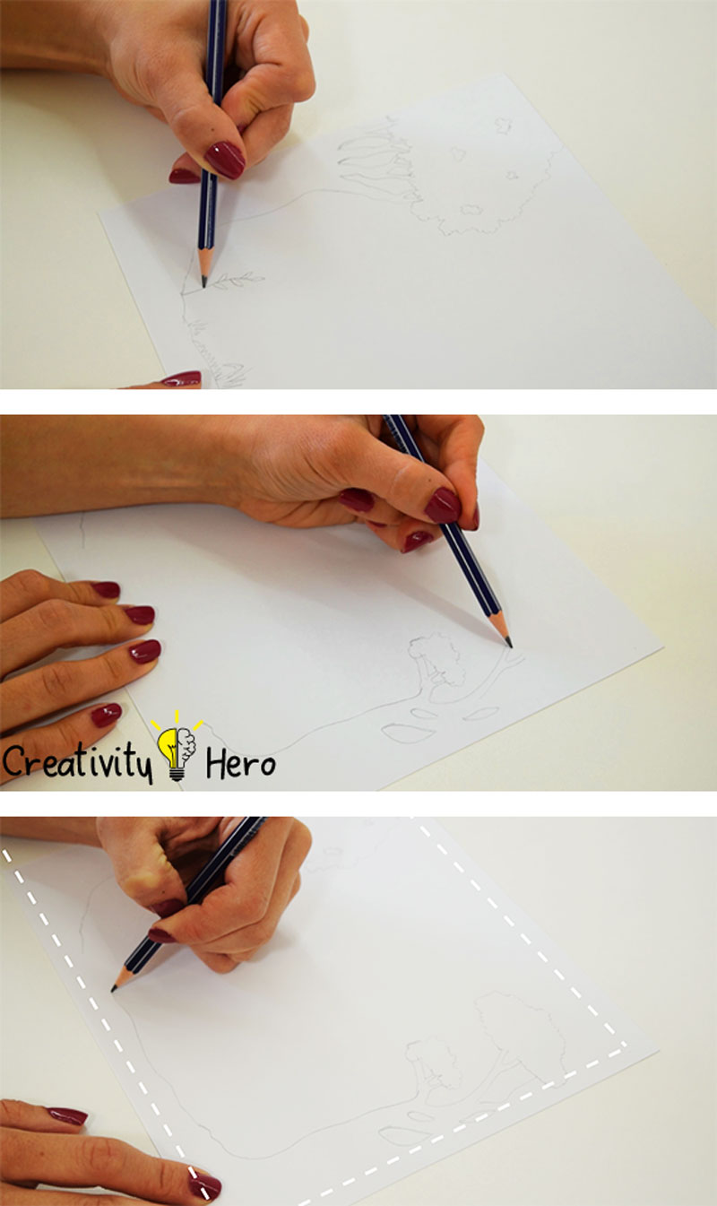 How To Create A 3D Paper Cut Light Box DIY Project 2