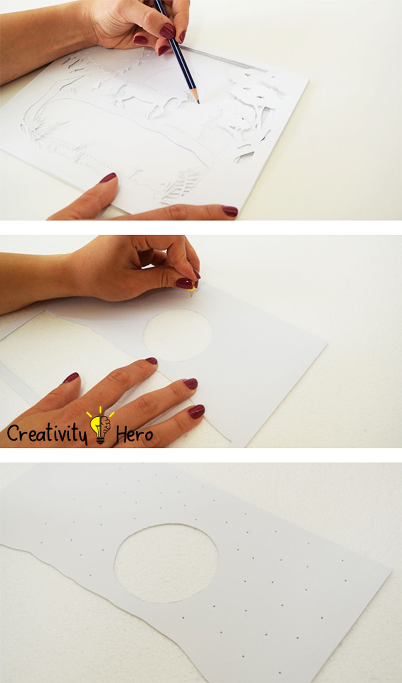 How To Create A 3D Paper Cut Light Box DIY Project 7