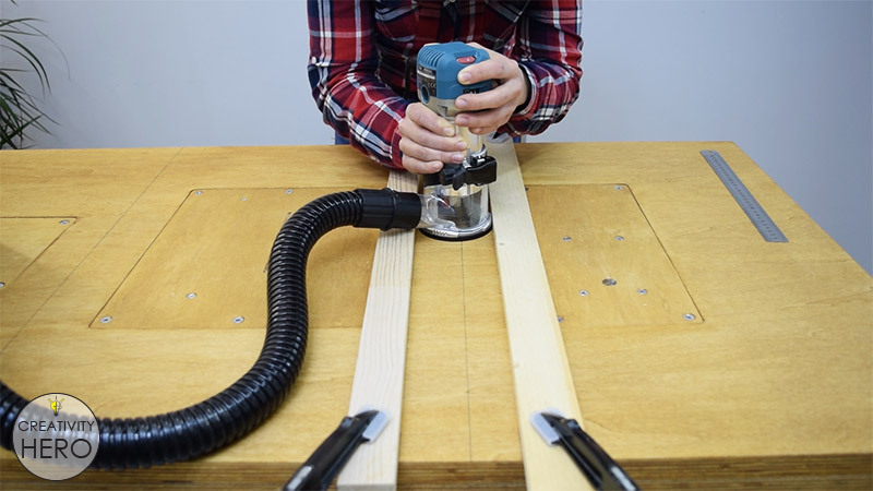 How to Make a Crosscut Sled with Flip Stop Block (Free Plans) 1