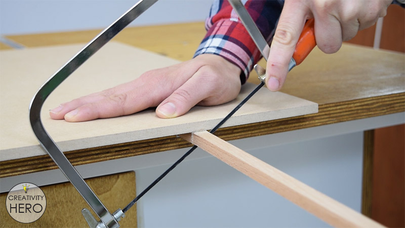 How to Make a Crosscut Sled with Flip Stop Block (Free Plans) 11