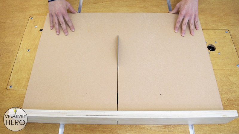 How to Make a Crosscut Sled with Flip Stop Block (Free Plans) 14