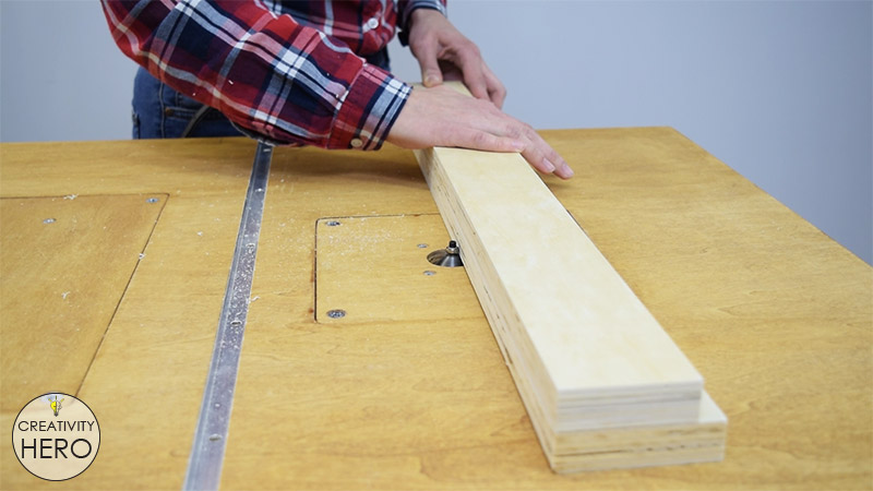 How to Make a Crosscut Sled with Flip Stop Block (Free Plans) 15