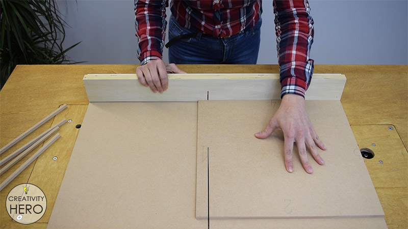 How to Make a Crosscut Sled with Flip Stop Block (Free Plans) 19