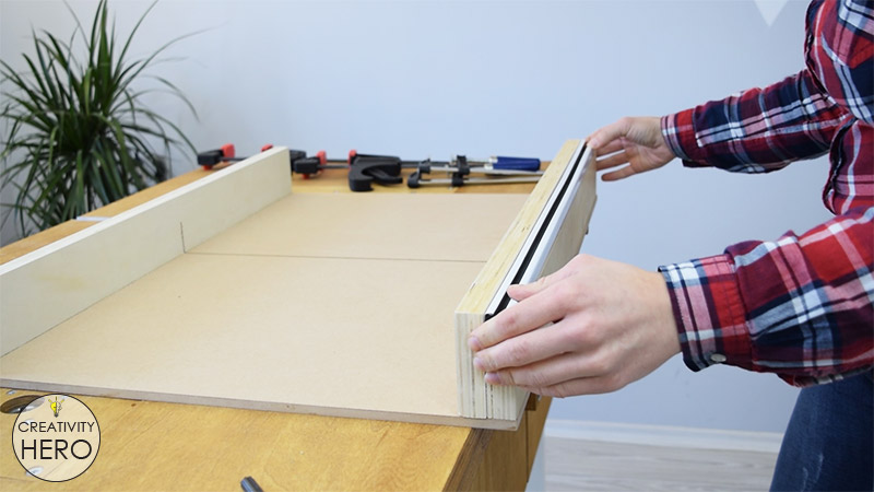 How to Make a Crosscut Sled with Flip Stop Block (Free Plans) 23