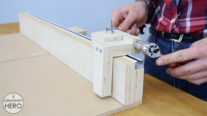 How to Make a Crosscut Sled with Flip Stop Block (Free Plans) 34