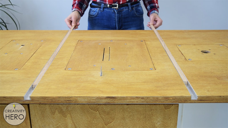 How to Make a Crosscut Sled with Flip Stop Block (Free Plans) 7