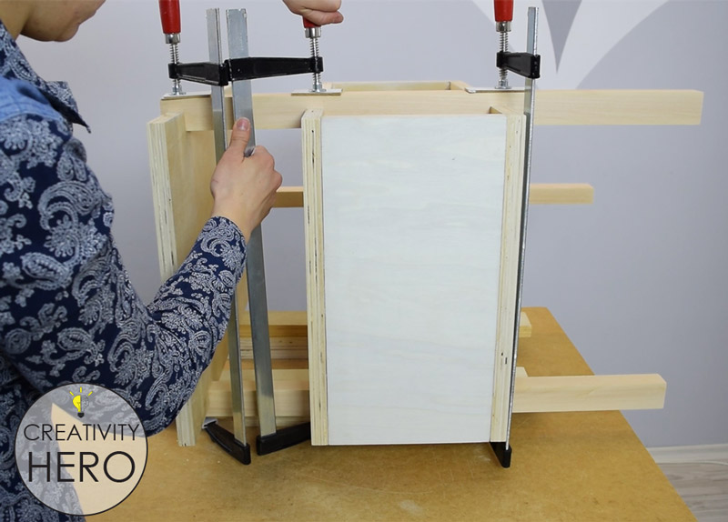DIY Mid-Century Modern Side Table End Table 14