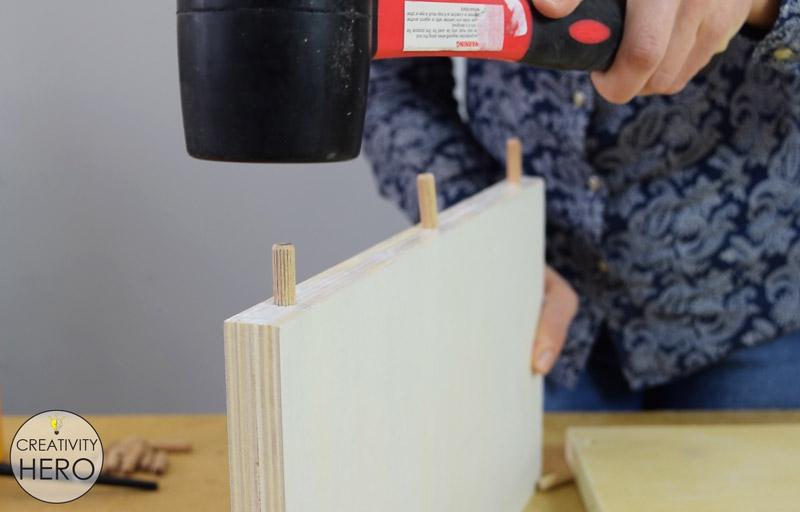 DIY Mid-Century Modern Side Table End Table 8