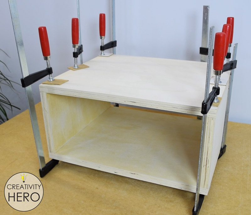 DIY Mid-Century Modern Side Table End Table 9