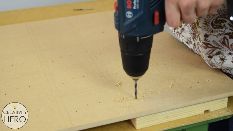 Preparing the MDF Board for The Electronics Part