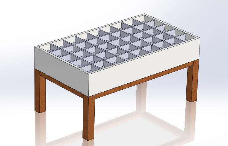 Diy Interactive Led Coffee Table Creativity Hero
